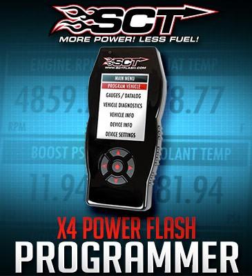 7015 SCT X4 Power Flash Ford Powerstroke Programmer