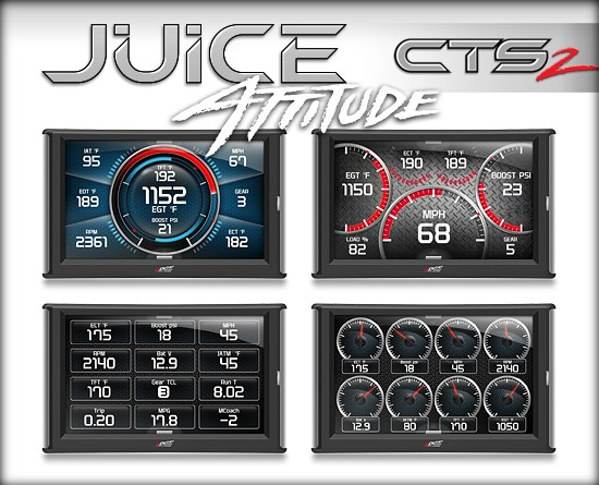 31507 Edge Products Juice With Attitude CTS2 Tuner 2013-2016 Dodge Ram 6.7L Cummins