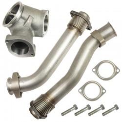 1043900 BD Diesel Up Pipe Kit for Ford 7.3L Powerstroke