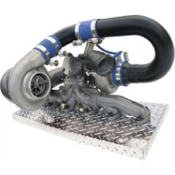 1045420 BD Diesel R700 Twin Turbo Kit for Dodge 5.9L Cummins