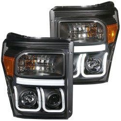 111292  Anzo PROJECTOR U BAR STYLE HEADLIGHTS