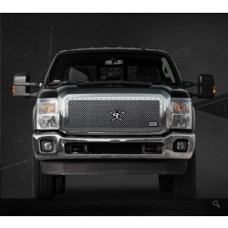 158564 RBP RX-5 HALO Series Grille 2011-2014 Ford Super Duty