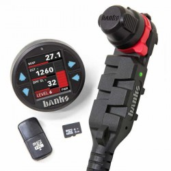 Derringer Tuner, w/DataMonster  with ActiveSafety, includes Banks iDash 1.8 DataMonster for 2011-2014 Ford F150 3.5L EcoBoost