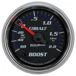 6103-M Autometer Vacuum Boost 2 1/16 inch 52.4mm