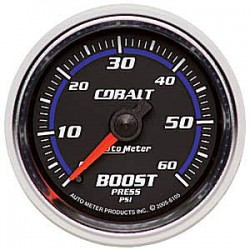 6105 Autometer Boost Gauge 2 1/16 inch 52.4mm