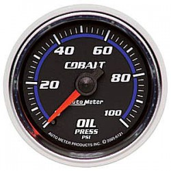 6121 Autometer Oil Pressure Gauge 2 1/16 inch 52.4mm