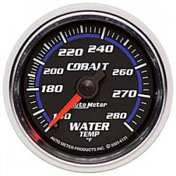 6131 Autometer Water Temperature Gauge 2 1/16 inch 52.4mm
