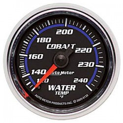 6132 Autometer Water Temperature Gauge 2 1/16 inch 52.4mm