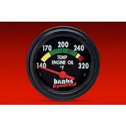 64110 Banks Power Dynafact Engine Oil Temp Gauge Kit