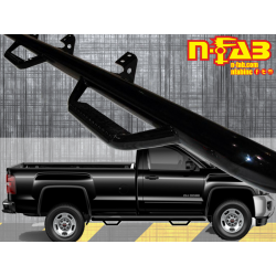 C1581RC-4 N-Fab Bed Access 4 Step Nerf Step 2015-2017 Chevy / GMC