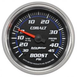 7908 Autometer Vacuum Boost Gauge 2 5/8 inch 66.7mm