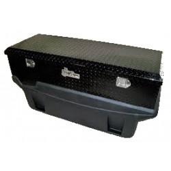 9991160 Titan Locking Black Diamond Plate Aluminum Toolbox