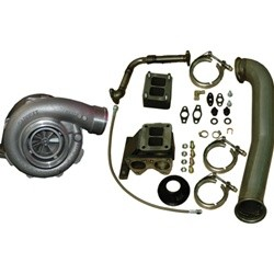 1160080 PPE Diesel Series Turbo Kit with Garrett GT42R 2001-2007 Duramax