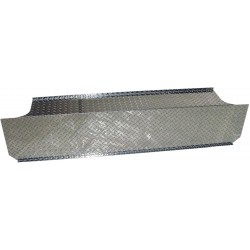BB0002 MBRP Stack T Checker Plate Cover 2003-2009 Dodge Ram