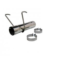 MDS017 MBRP Muffler Delete Pipe
