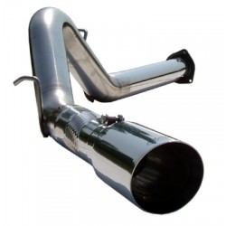 S6026304 MBRP Filter Back Exhaust System 2007-2010 Duramax