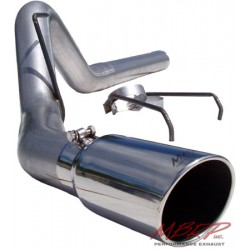 S6120AL MBRP Filter Back Exhaust System 2007-2009 Dodge 6.7L Cummins