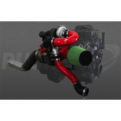Pusher High Mount Compound Turbo System for Dodge Ram 6.7L Cummins 2007.5-2009