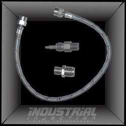DFF-59CR Industrial Injection Dodge 5.9L CR Dual Feed Fuel Line Kit