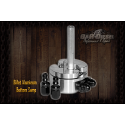 GRD00153 G&R Diesel Billet Aluminum Bottom Sump with Integrated Return