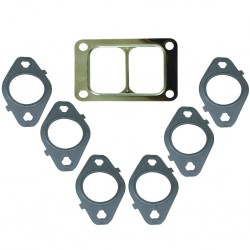 1045986-T6 BD Diesel Gasket Set for Exhaust Manifold with T6 Flange Dodge 5.9L or 6.7L Cummins