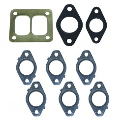 1045986-T4 BD Diesel Gasket Set for Exhaust Manifold with T4 Flange Dodge 5.9L or 6.7L Cummins
