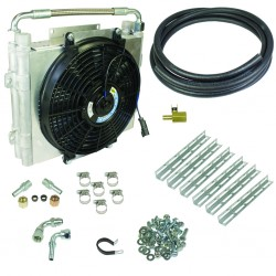 1030606-DS-12 BD Diesel Xtrude Double Stacked Transmission Cooler Kit Universal
