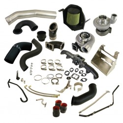 1045780 BD Diesel Cobra Twin Turbo Kit S361SX-E / S476SX-E Dodge 2003-2007 5.9L