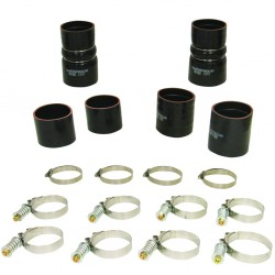 1047030 BD Diesel Intercooler Hose and Clamp Kit for 1999.5-2003 Ford 7.3L Powerstroke