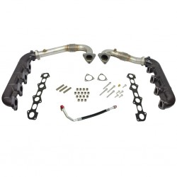 1041481 BD Diesel Up Pipe and Manifold Kit Ford 6.4L Powerstroke
