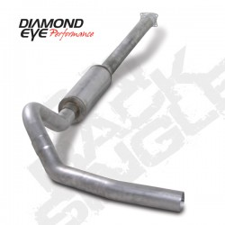 K4110A Diamond Eye Cat Back Exhaust System for LB7 LLY Duramax