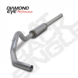 K4234A Diamond Eye Cat Back Exhaust System for Dodge 5.9L Cummins