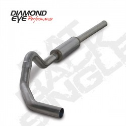 K4234S Diamond Eye Cat Back Exhaust System for Dodge 5.9L Cummins