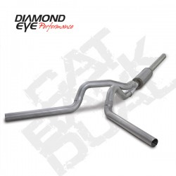 K4236A Diamond Eye Cat Back Dual Exhaust System for Dodge 5.9L Cummins