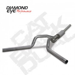 K4236S Diamond Eye Cat Back Dual Exhaust System for Dodge 5.9L Cummins