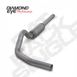 K4310A Diamond Eye Cat Back Exhaust System for Ford 7.3L Powerstroke