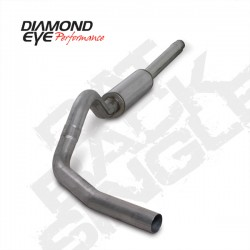 K4310S Diamond Eye Cat Back Exhaust System for Ford 7.3L Powerstroke