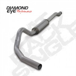 K4338A Diamond Eye Cat Back Exhaust System for Ford 6.0L Powerstroke