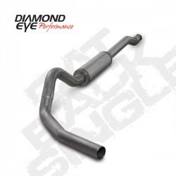 K4338S Diamond Eye Cat Back Exhaust System for Ford 6.0L Powerstroke
