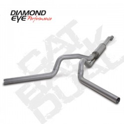 K4340A Diamond Eye Cat Back Exhaust System for Ford 6.0L Powerstroke
