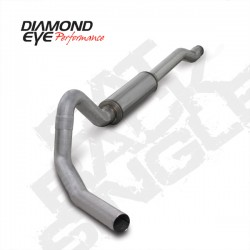 K4354A Diamond Eye Cat Back Exhaust System for Ford 6.0L Powerstroke