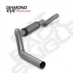 K5126A Diamond Eye Cat Back Single Exhaust System for LBZ Duarmax