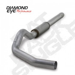 K5244A Diamond Eye Cat Back Exhaust System for Dodge 5.9L Cummins