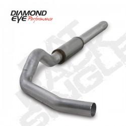 K5244A Diamond Eye Cat Back Exhaust System for Dodge 5.9L Cummins