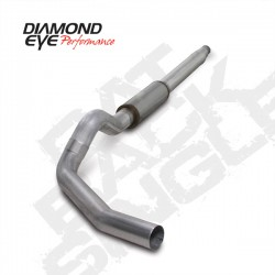 K5316A Diamond Eye Cat Back Exhaust System for Ford 7.3L Powerstroke