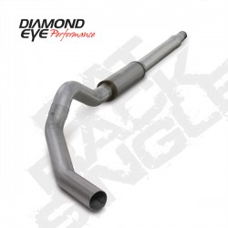 K5344A Diamond Eye Cat Back Exhaust System for Ford 6.0L Powerstroke