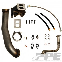 116005000 PPE GT40R Series Turbo Installation Kit LB7 Duramax
