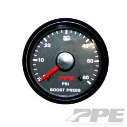 5160100 PPE Turbo Boost Pressure Gauge