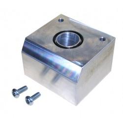 228051001 PPE Viton O Ring Sealed Filter Spacer Block