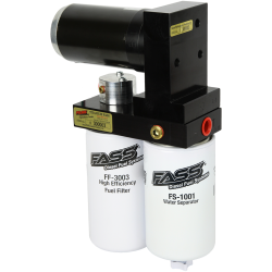 TS D10 125G FASS Titanium Signature Series 125 GPH Lift Pump for Dodge 12V 5.9 Cummins 1994-1998
